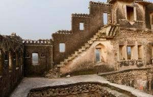Ruiner av ett palats