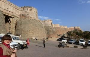 Huvudport till fortet