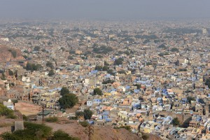 Jodhpur - den blå staden