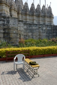 Ranakpur, vid Jaintemplet