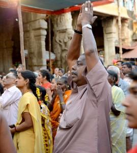 Samtliga Bilder är från en tempelceremoni i Trichy vid templet; Sri Ranganathanswamy