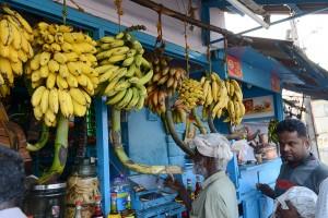 Bananer och de röda är väldigt goda