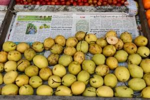 Päron på vägen upp