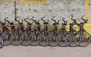 Cyklar till uthyrning