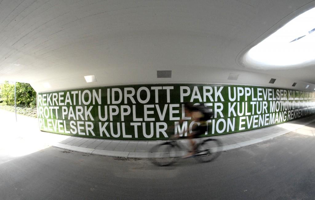 Gång/cykeltunnel, Helsingborg